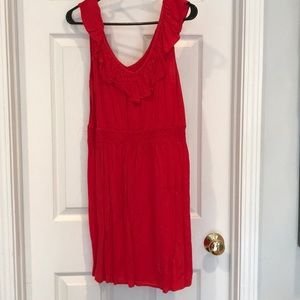 Red juniors size large dress